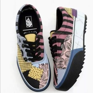 Vans x Disney Era Stacked Sally Nightmare Before